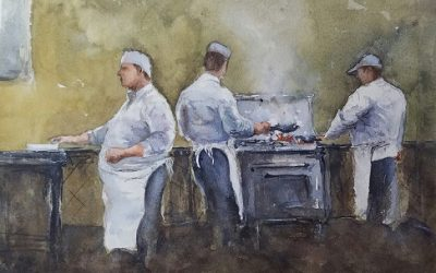 New Watercolor Series – Chef's